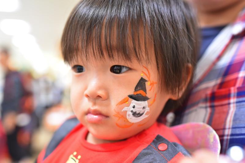 広島フェイスペイント組合-天満屋広島緑井店ハロウィンイベント!!-0036