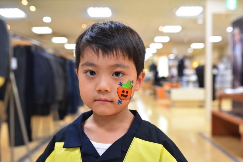 広島フェイスペイント組合-天満屋広島緑井店ハロウィンイベント!!-004