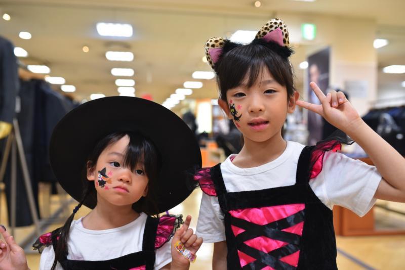 広島フェイスペイント組合-天満屋広島緑井店ハロウィンイベント!!-0042