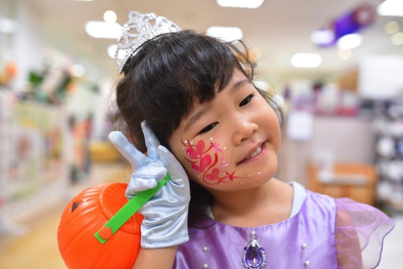 広島フェイスペイント組合-天満屋広島緑井店ハロウィンイベント!!-0043