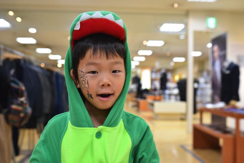 広島フェイスペイント組合-天満屋広島緑井店ハロウィンイベント!!-005