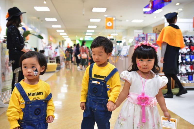 広島フェイスペイント組合-天満屋広島緑井店ハロウィンイベント!!-0062