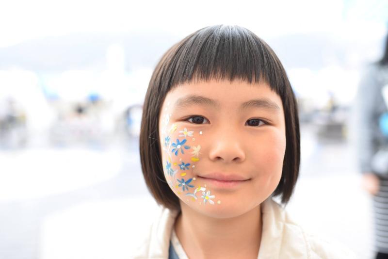 広島フェイスペイント組合-呉かきフェスタ-祝10年連続日本一-10