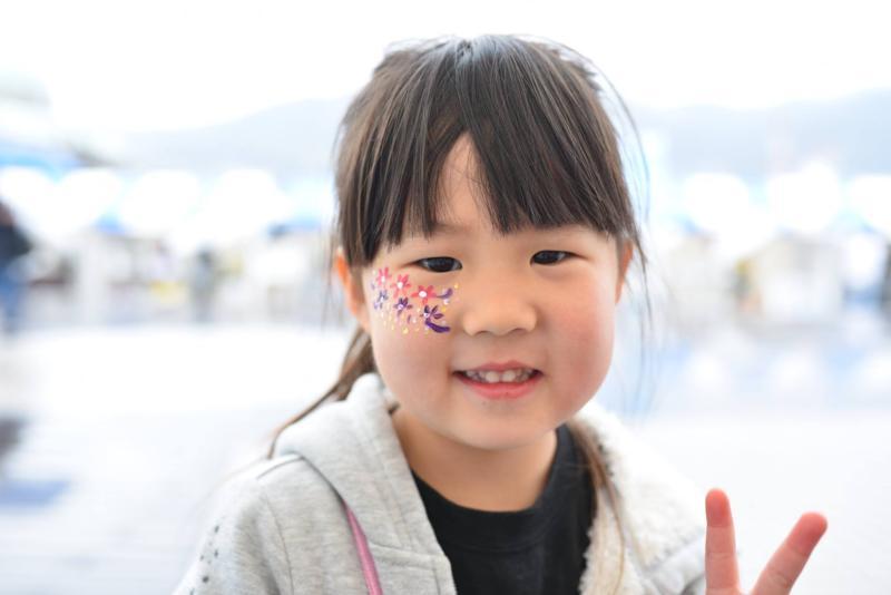 広島フェイスペイント組合-呉かきフェスタ-祝10年連続日本一-11