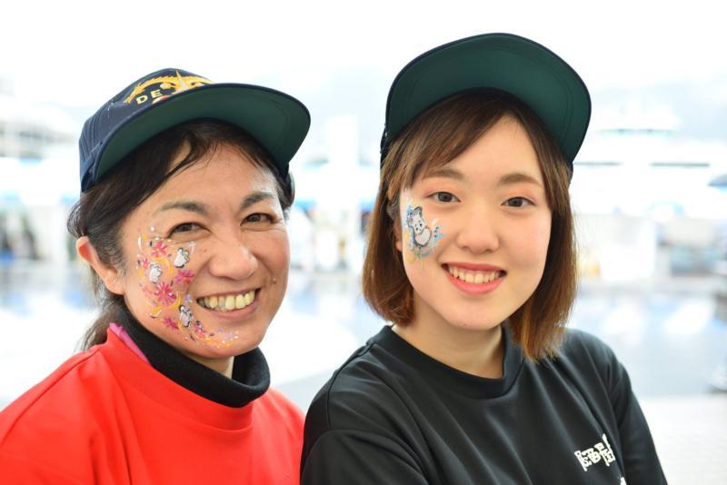 広島フェイスペイント組合-呉かきフェスタ-祝10年連続日本一-16