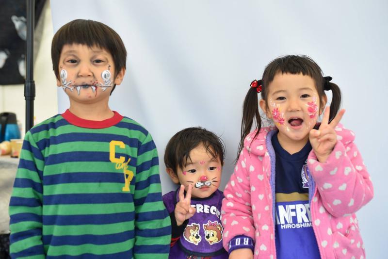 広島フェイスペイント組合-呉かきフェスタ-祝10年連続日本一-33