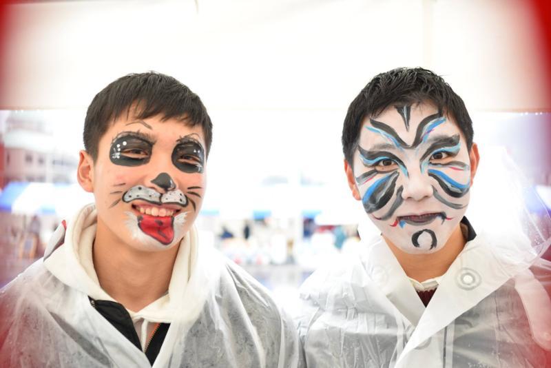広島フェイスペイント組合-呉かきフェスタ-祝10年連続日本一-6