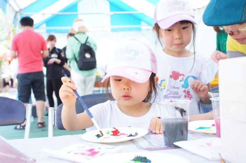 広島フェイスペイント組合-令和春日野住宅展示場オープニングフェア第2弾!1日目-01