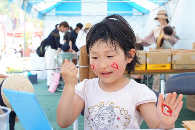 広島フェイスペイント組合-令和春日野住宅展示場オープニングフェア第2弾!1日目-02