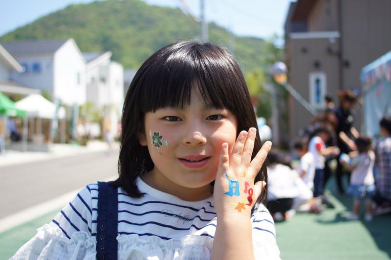 広島フェイスペイント組合-令和春日野住宅展示場オープニングフェア第2弾!1日目-03