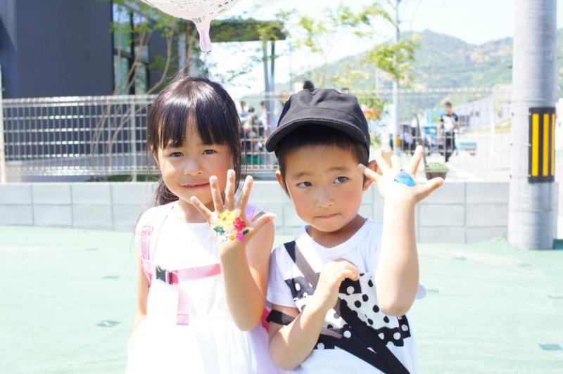 広島フェイスペイント組合-令和春日野住宅展示場オープニングフェア第2弾!1日目-12
