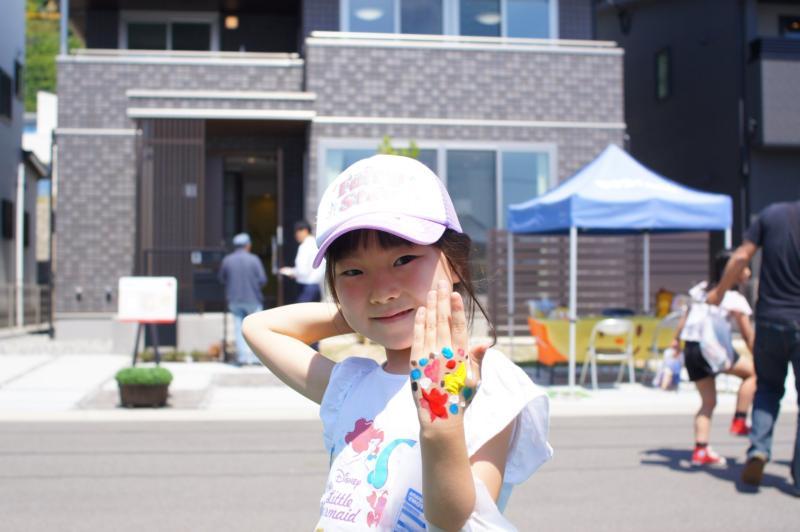 広島フェイスペイント組合-令和春日野住宅展示場オープニングフェア第2弾!1日目-14