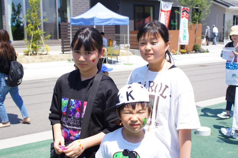 広島フェイスペイント組合-令和春日野住宅展示場オープニングフェア第2弾!1日目-23