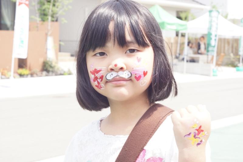 広島フェイスペイント組合-令和春日野住宅展示場オープニングフェア第2弾!2日目-06