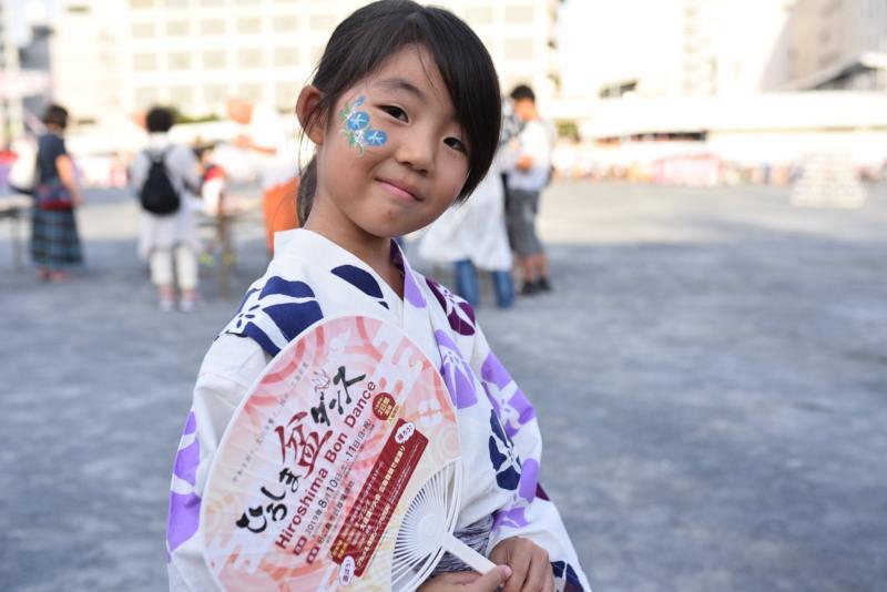 広島フェイスペイント組合-ひろしま盆ダンス2019-01