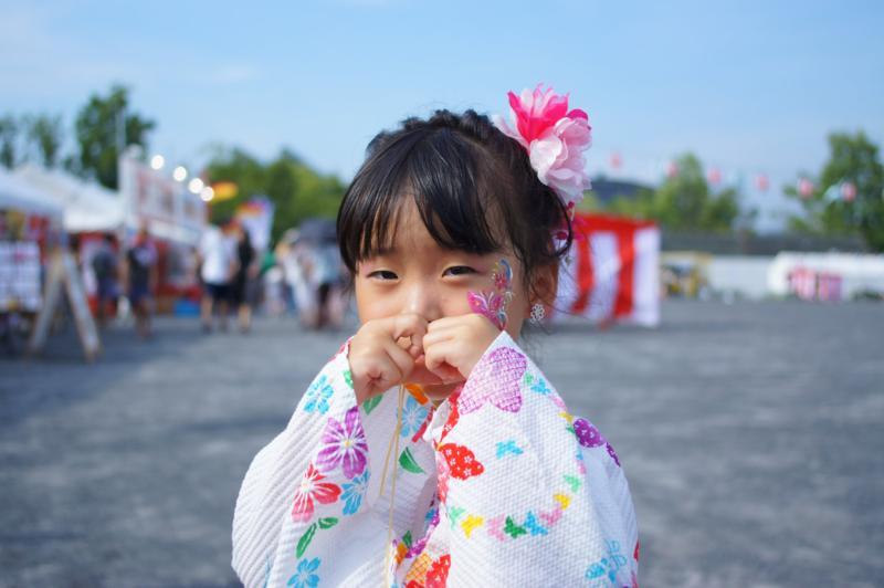 広島フェイスペイント組合-ひろしま盆ダンス2019-02