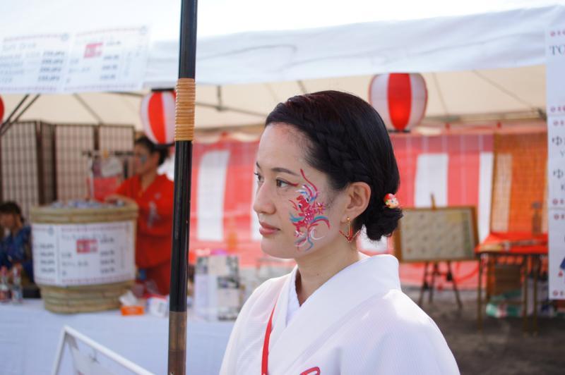 広島フェイスペイント組合-ひろしま盆ダンス2019-03
