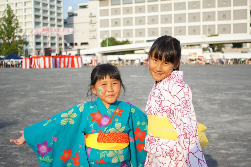 広島フェイスペイント組合-ひろしま盆ダンス2019-06