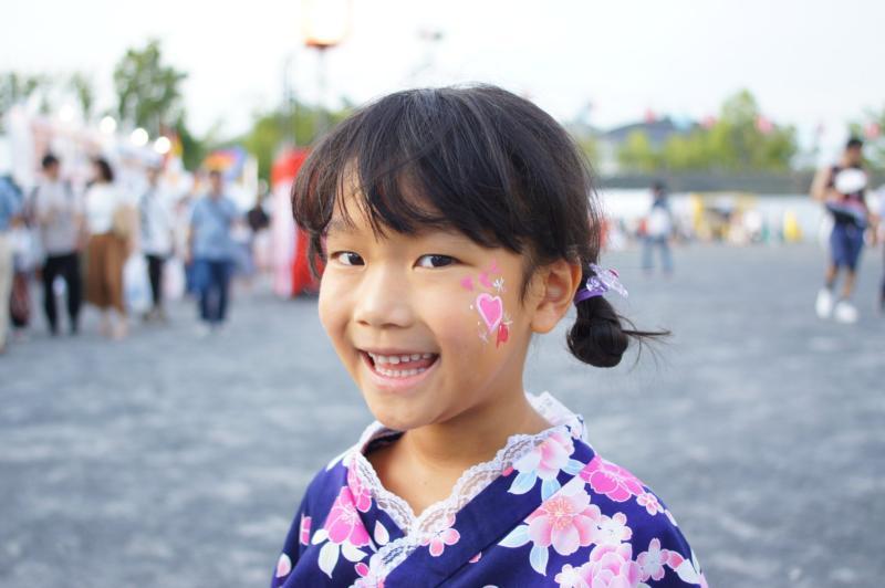 広島フェイスペイント組合-ひろしま盆ダンス2019-07