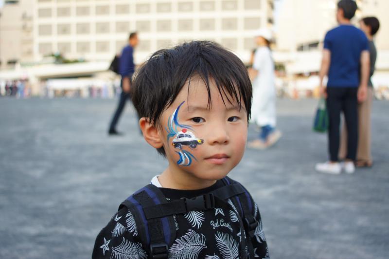 広島フェイスペイント組合-ひろしま盆ダンス2019-09