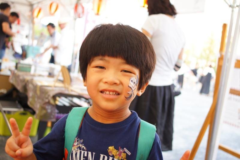 広島フェイスペイント組合-ひろしま盆ダンス2019-12