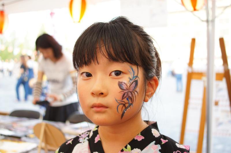 広島フェイスペイント組合-ひろしま盆ダンス2019-13