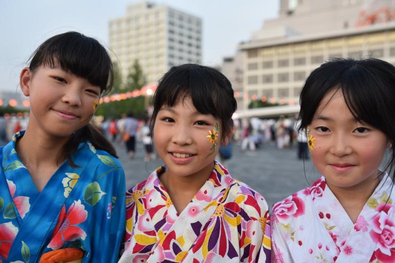 広島フェイスペイント組合-ひろしま盆ダンス2019-14