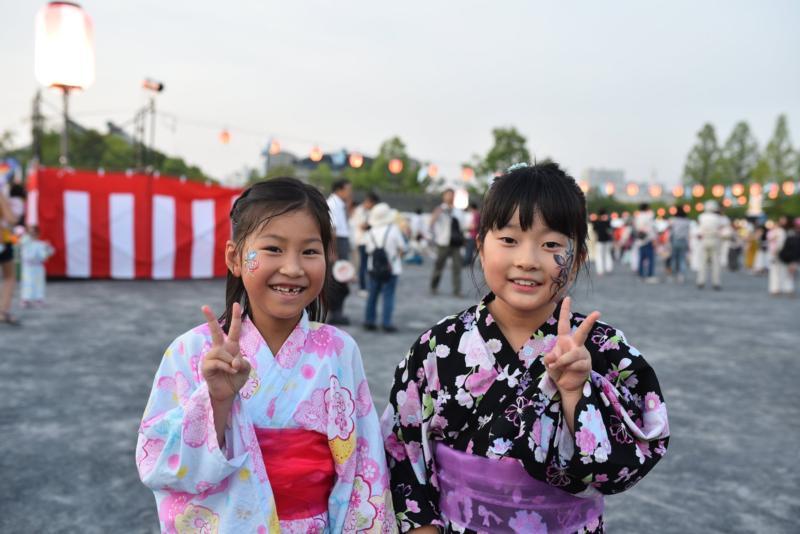 広島フェイスペイント組合-ひろしま盆ダンス2019-15