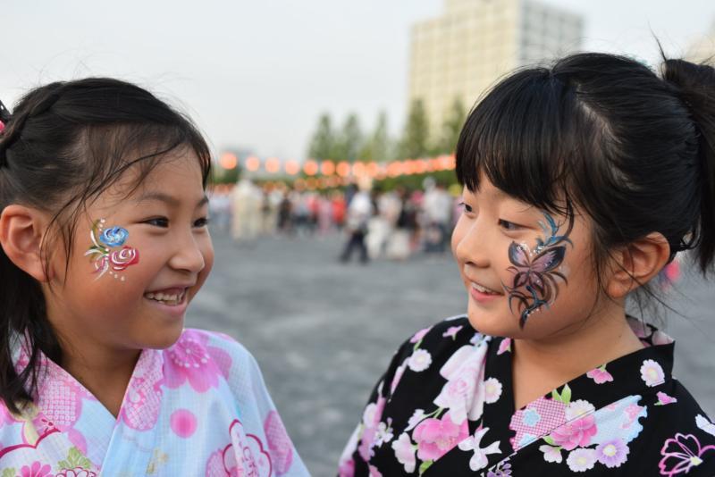 広島フェイスペイント組合-ひろしま盆ダンス2019-16