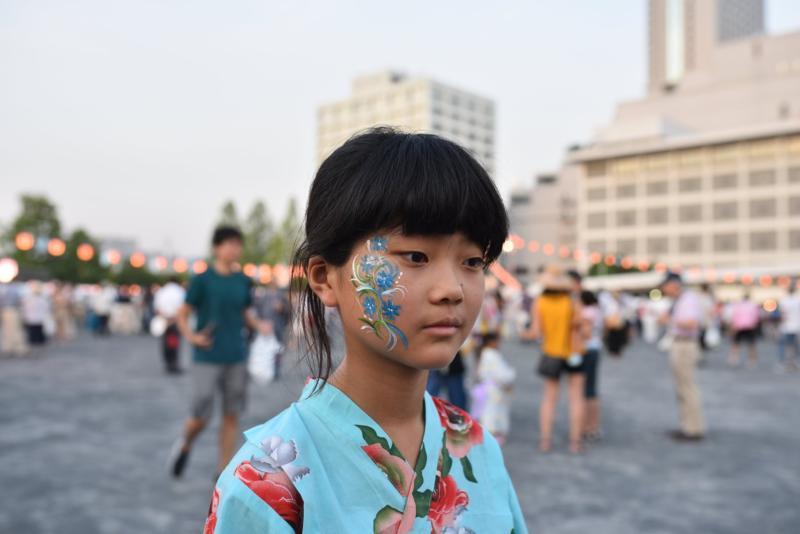 広島フェイスペイント組合-ひろしま盆ダンス2019-17