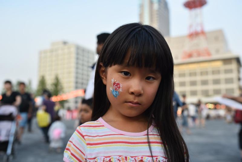 広島フェイスペイント組合-ひろしま盆ダンス2019-19