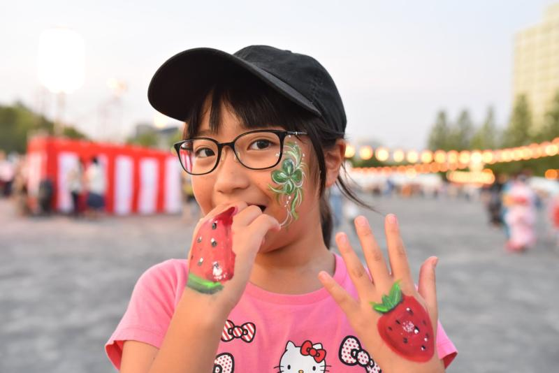 広島フェイスペイント組合-ひろしま盆ダンス2019-20