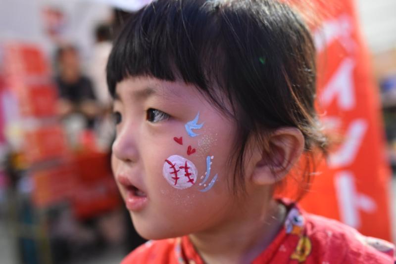 広島フェイスペイント組合-ひろしま盆ダンス2019-22