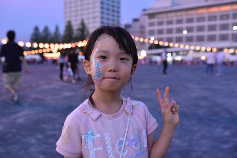 広島フェイスペイント組合-ひろしま盆ダンス2019-24