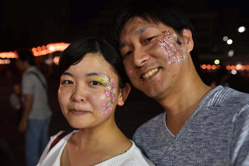 広島フェイスペイント組合-ひろしま盆ダンス2019-27