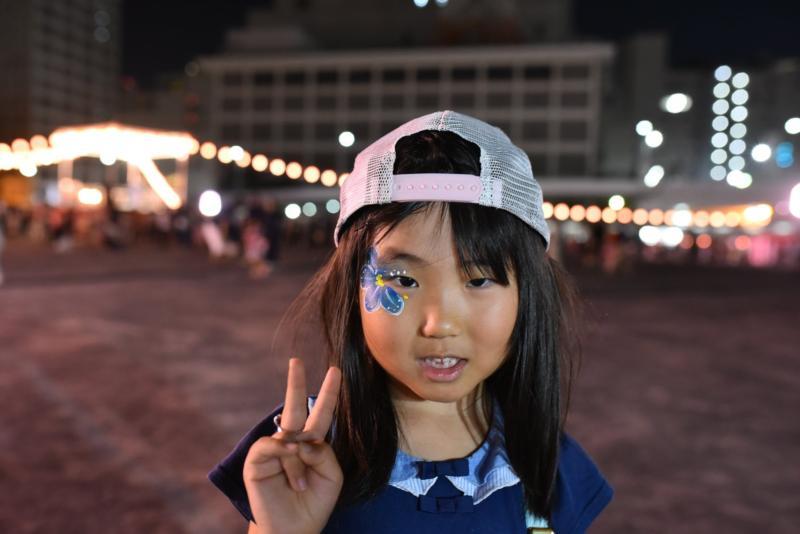 広島フェイスペイント組合-ひろしま盆ダンス2019-28