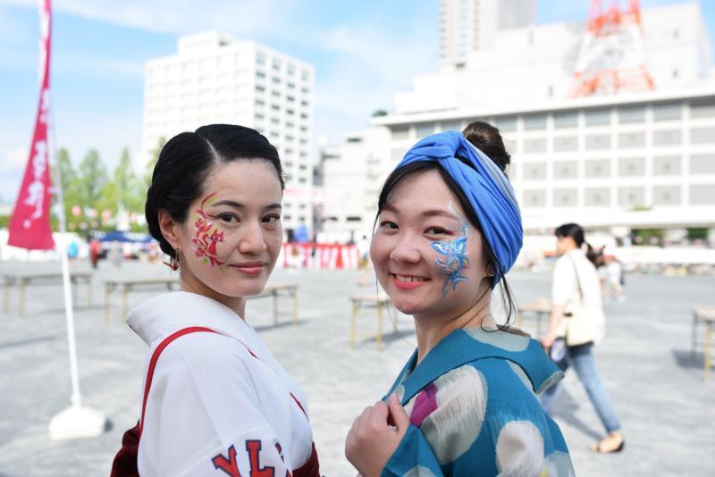 広島フェイスペイント組合-ひろしま盆ダンス2019-32