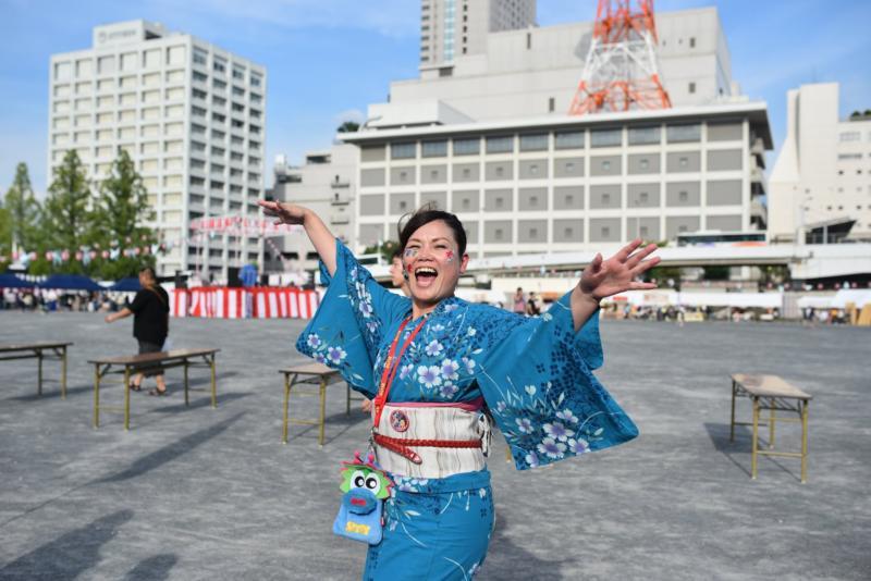 広島フェイスペイント組合-ひろしま盆ダンス2019-34
