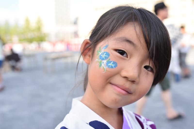 広島フェイスペイント組合-ひろしま盆ダンス2019-38