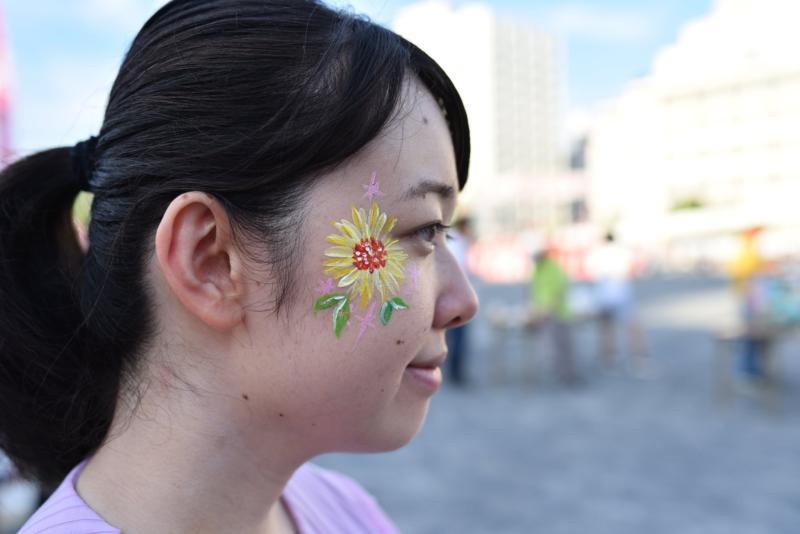 広島フェイスペイント組合-ひろしま盆ダンス2019-43