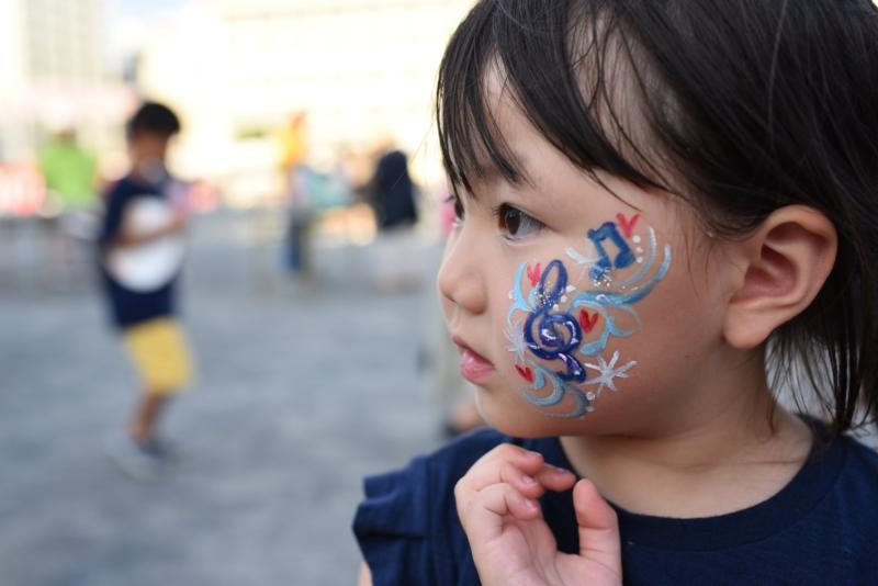 広島フェイスペイント組合-ひろしま盆ダンス2019-44
