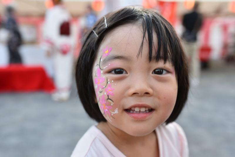広島フェイスペイント組合-ひろしま盆ダンス2019-54