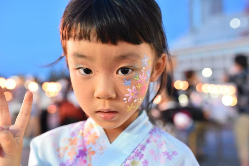 広島フェイスペイント組合-ひろしま盆ダンス2019-62