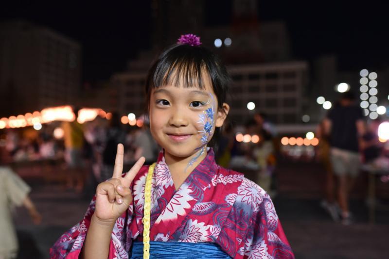 広島フェイスペイント組合-ひろしま盆ダンス2019-71