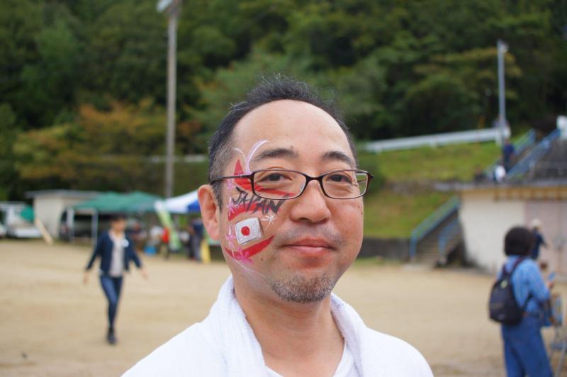 広島フェイスペイント組合-第85回筆まつり-013