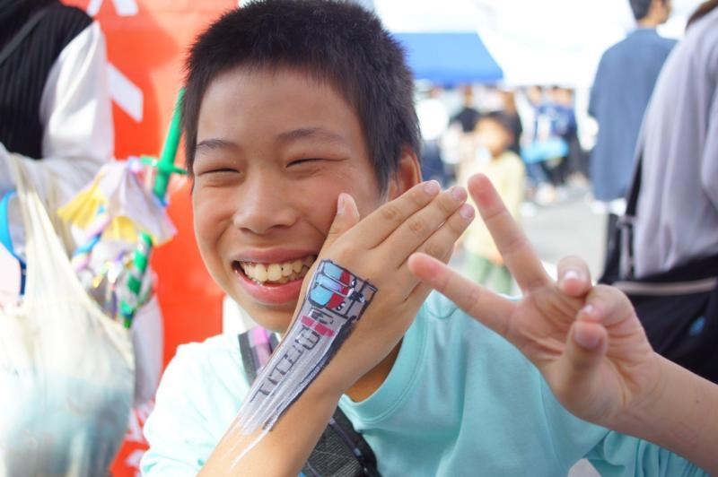 広島フェイスペイント組合-第53回比治山祭1日目-003