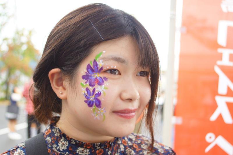 広島フェイスペイント組合-第53回比治山祭1日目-019