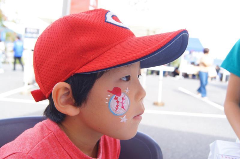 広島フェイスペイント組合-第53回比治山祭2日目-012