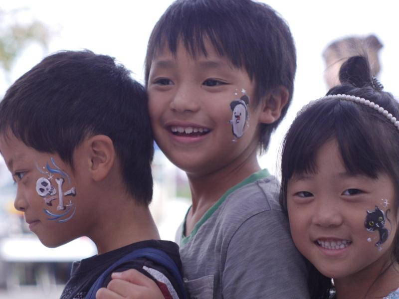 広島フェイスペイント組合-第53回比治山祭2日目-016