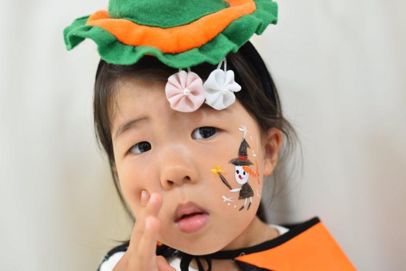 広島フェイスペイント組合-ハロウィンキッズ2019-10
